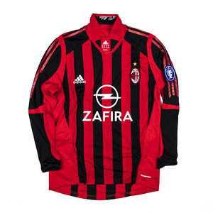 AC MILAN 2005-06 HOME L/S #20 SEEDORF (PLAYER ISSUED)