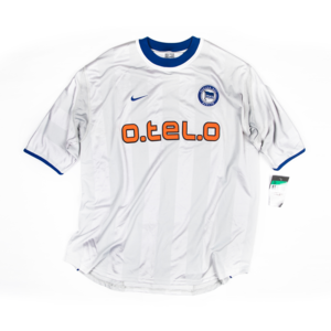 HERTHA BERLIN 2000-01 AWAY JERSEY S/S (BNWT)
