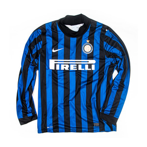 INTER MILAN 2011-12 HOME L/S PROTOTYPE JERSEY (PLAYER ISSUED)