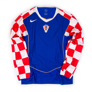 CROATIA 2004-05 AWAY L/S (BNWT, Player Issued)