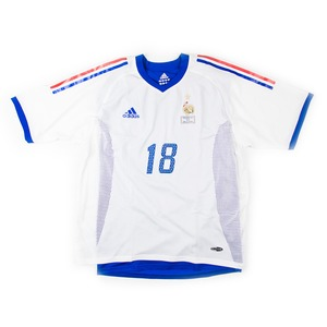 FRANCE 2002-03 AWAY #18 LEBOEUF (MATCH ISSUED)