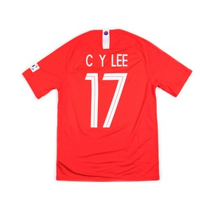 KOREA 18-19 HOME #17 CHUNGYONG LEE
