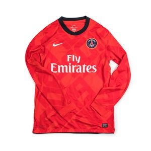 PSG 2010-11 AWAY JERSEY L/S (AUTHENTIC)