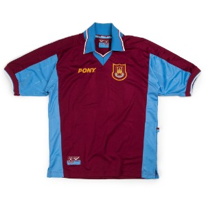 WEST HAM UNITED 97-98 HOME S/S #18 LAMPARD