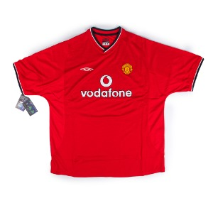 MANCHESTER UNITED 00-02 HOME S/S 10 v.NISTELROOY (BNWT)