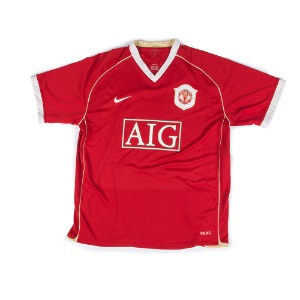 MANCHESTER UNITED 06-07 HOME S/S 5 FERDINAND