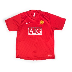 MANCHESTER UNITED 07-08 HOME S/S #15 VIDIC
