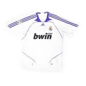 REAL MADRID 07-08 HOME S/S #17 v.NISTELROOY