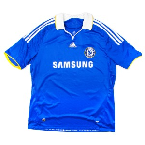 CHELSEA 08-09 HOME S/S #11 DROGBA