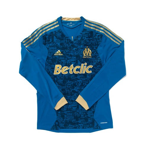 Olympique Marseille 2011-2012 AWAY L/S L #24 FANNI (FORMOTION)