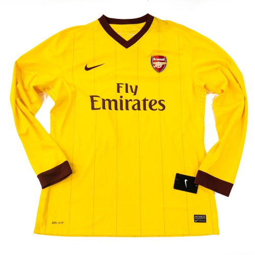 ARSENAL 2011-2012 3RD L/S AUTHENTIC XL #4 FABREGAS (w/ TAG)