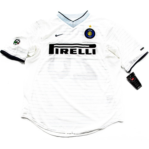 INTER MILAN 2000-2001 AWAY S/S L #20 RECOBA