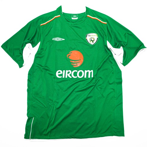 IRELAND 2004-2006 HOME S/S L #11 DUFF
