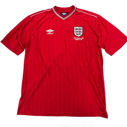 ENGLAND 1984-1988 RETRO AWAY S/S XL #20
