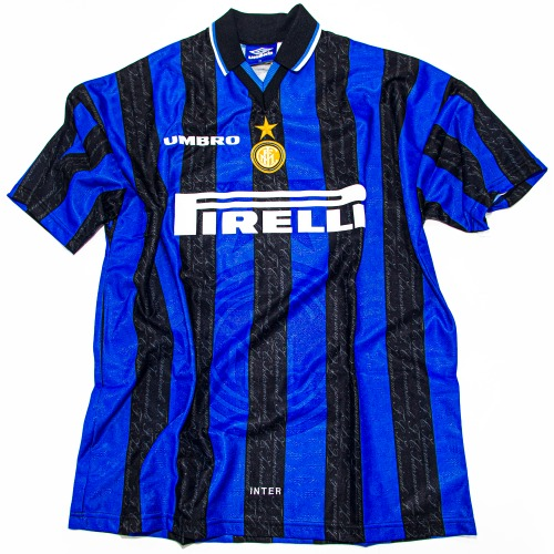 INTER MILAN 1997-1998 HOME S/S XL #10 RONALDO