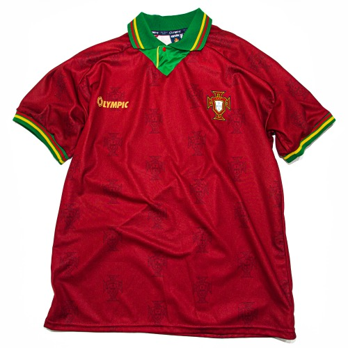 PORTUGAL 1994-1996 HOME S/S XL #7 FIGO