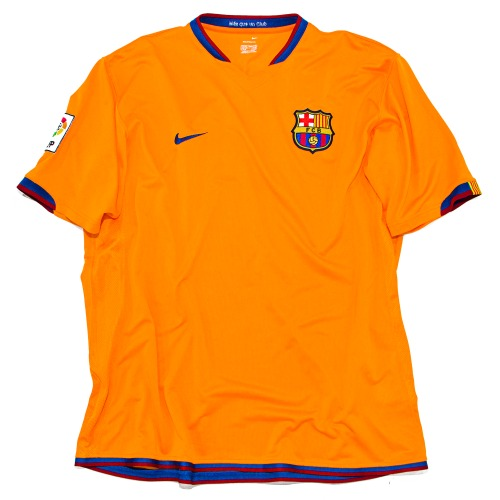 BARCELONA 2006-2007 AWAY S/S XL #10 RONALDINHO