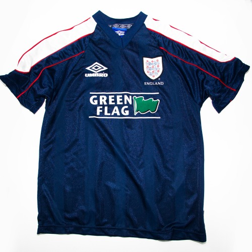 ENGLAND 1990S TRAINING S/S L TOP NAVY