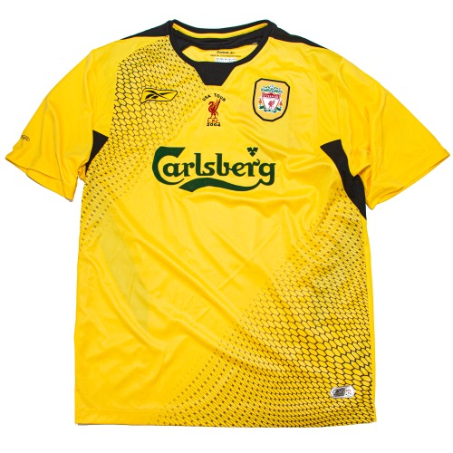 LIVERPOOL 2004-2006 AWAY S/S L (USA TOUR ver.) #8 GERRARD