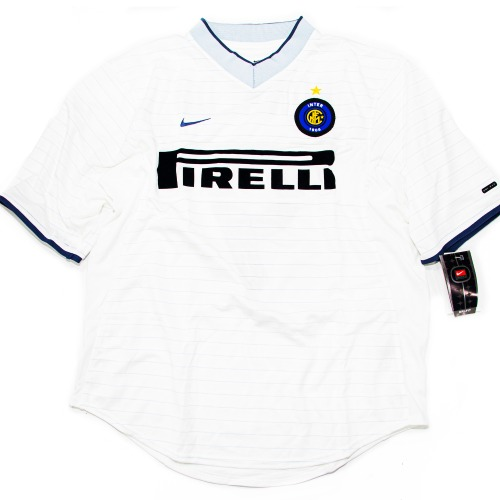 INTER MILAN 2000-2001 AWAY S/S L #9 RONALDO