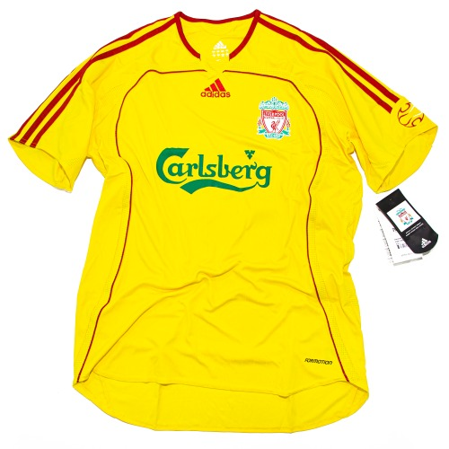 LIVERPOOL 2006-2007B AWAY S/S AUTHENTIC L #14 ALONSO