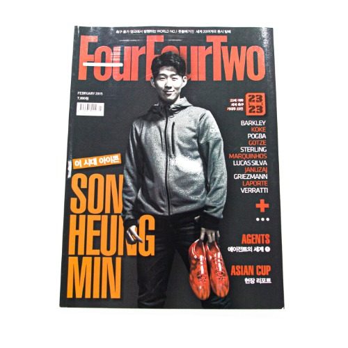 FOURFOURTWO KOREA FEBRUARY 2015