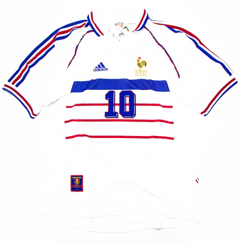 FRANCE 1998-2000 AWAY S/S L #10 ZIDANE