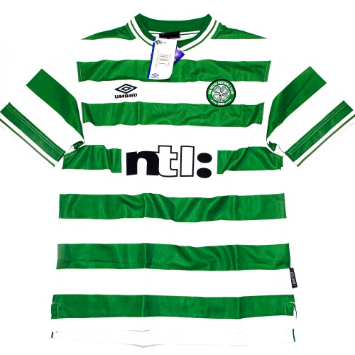 CELTIC 1999-2001 HOME L #7 LARSSON