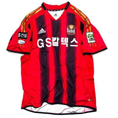 FCSEOUL 2005-2006 HOME S/S MATCH WORN XL #22 백지훈