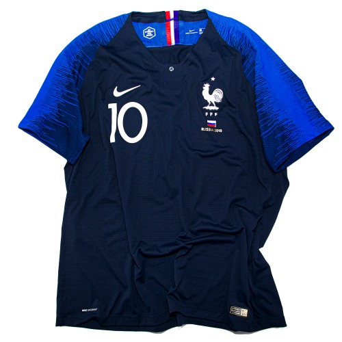 FRANCE 2018-2020 HOME S/S AUTHENTIC XXL #10 MBAPPE (BNWT)