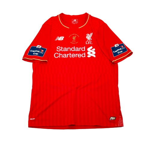 Liverpool 2015-2016 HOME S/S M #20 LALLANA