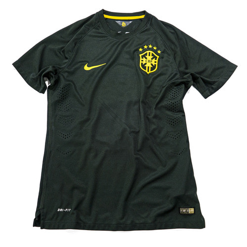 BRAZIL 2014-2015 3RD S/S M AUTHENTIC #4 DAVID LUIZ