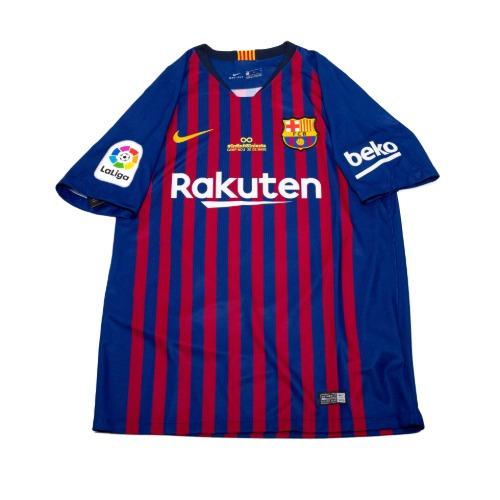 Barcelona 2018-2019 HOME S/S M #4 RAKITIC (W/TAG)