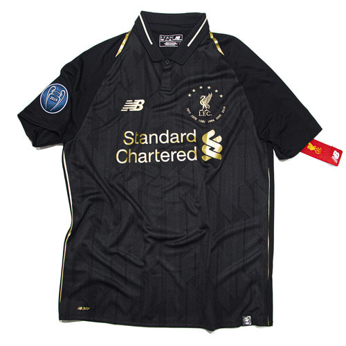LIVERPOOL 2018-2019 SPECIAL S/S M #6 CHAMPIONS OF EUROPE(W/TAG)
