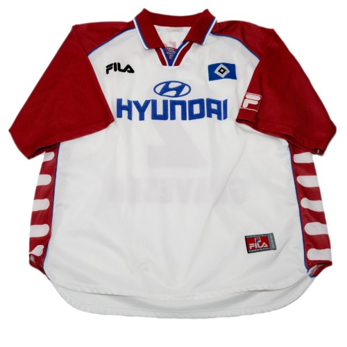 Hamburg 1999-2000 HOME S/S XL #2 GRAVESEN