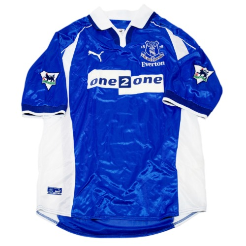 everton 2000-2002 HOME S/S L #12