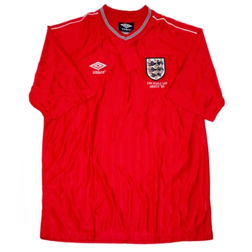 England 1984-1988 AWAY S/S XL #20  (W/TAG)