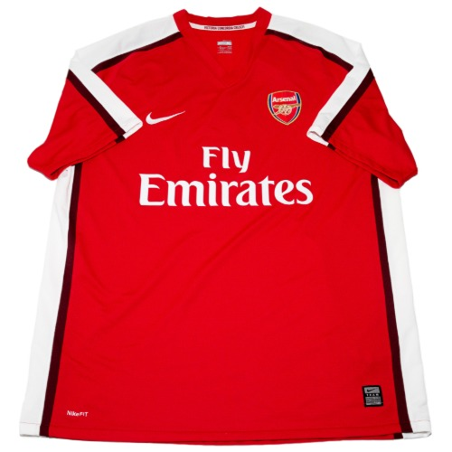 Arsenal 2008-2010 HOME S/S XL #4 FABREGAS