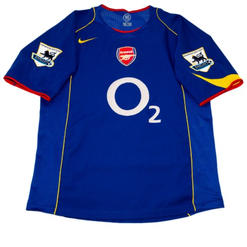 Arsenal 2004-2005 AWAY L/S M #14 HENEY