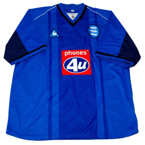 Birmingham City 2002-2003 HOME S/S L #21 DUGARRY (W/TAG)