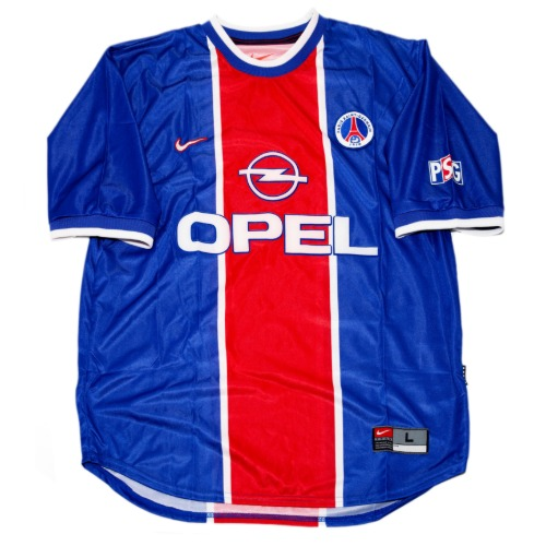 PSG 1999-2000 HOME S/S L #11 ROBERT (W/TAG)