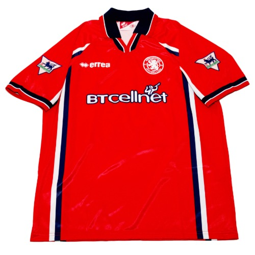 middlesbrough 1999-2000 HOME S/S L #23 junigho
