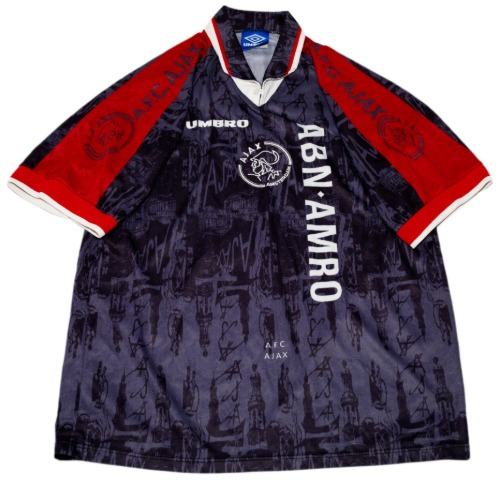 AJAX 1996-1997 AWAY S/S XL #9 KLUIVERT