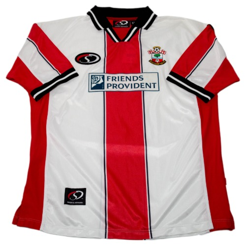 Southampton 1999-2001 HOME S/S XL #18 BRIDGE