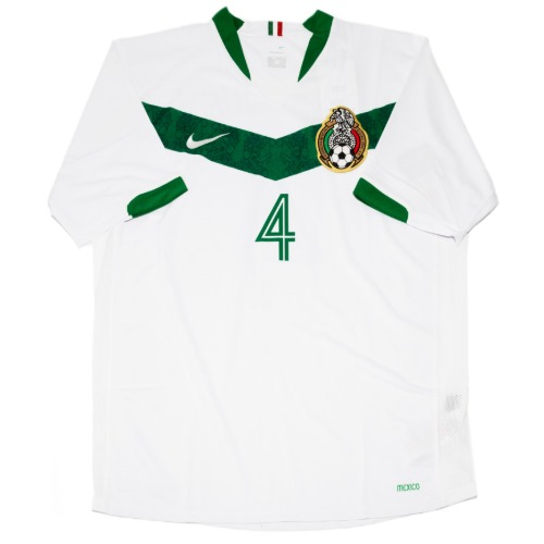 Mexico 2006 AWAY S/S L #4 MARQUEZ (W/TAG)